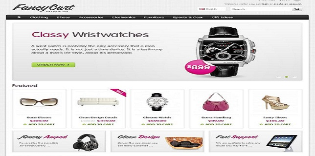 WordPress Theme – FancyCart WordPress Responsive eCommerce Theme