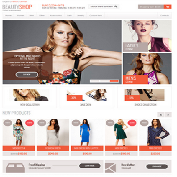 Magento eCommerce Themes Review - Beauty Shop Magento eCommerce Theme