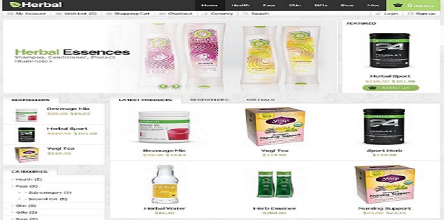 Themeforest eCommerce Themes Reviews – Herbal Themeforest eCommerce Theme