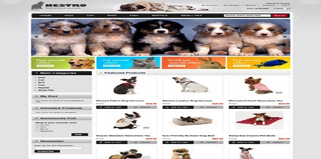 Magento eCommerce Themes Reviews – MT Nestro Magento eCommerce Theme