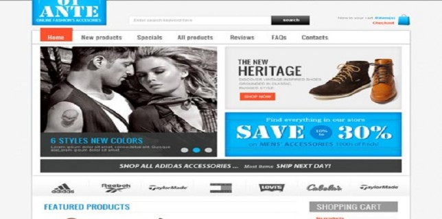 Joomla eCommerce Themes Reviews – OT-Ante Joomla eCommerce Theme