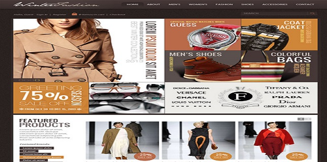 Joomla eCommerce Themes Reviews – OT Winter Fashion Joomla eCommerce Theme