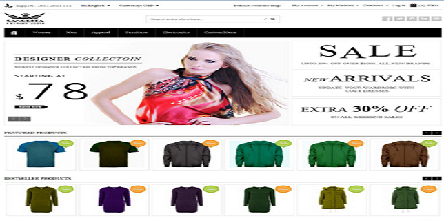 Magento eCommerce Themes Reviews – Sanorita Magento eCommerce Theme