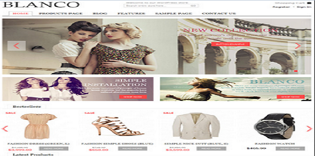 Magento eCommerce Themes Review - Blanco Magento eCommerce Theme