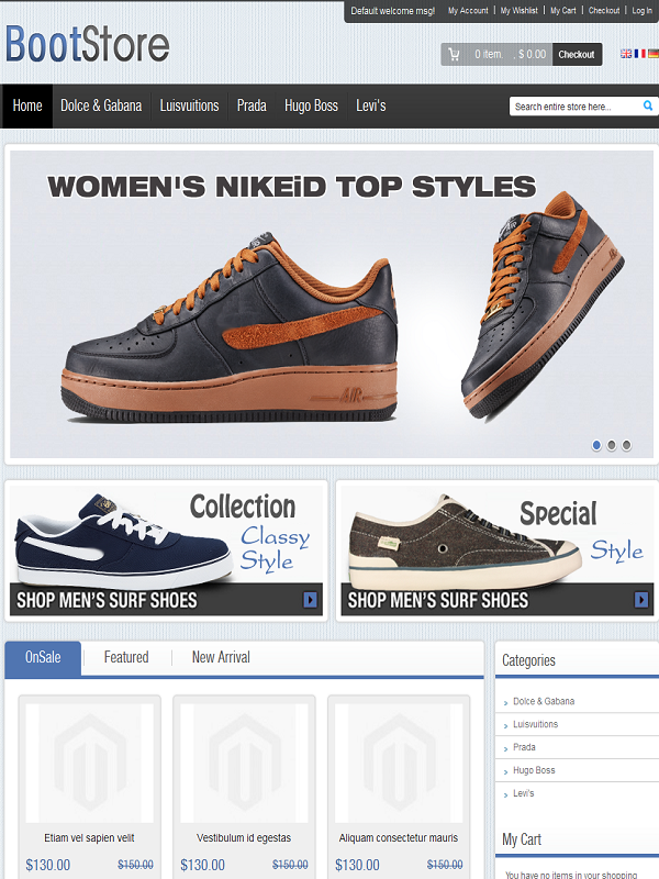 Themeforest eCommerce Themes Reviews - Boot Themeforest eCommerce Theme
