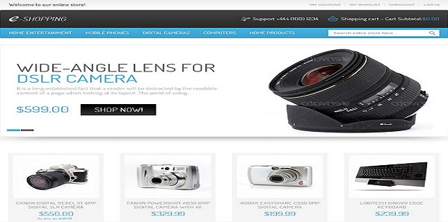 Magento eCommerce Themes Reviews - eShopping Magento eCommerce Theme