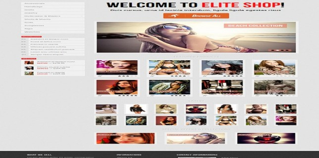 Themeforest eCommerce Themes Review – Elite Shop OpenCart Theme