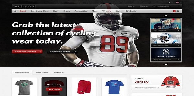 Magento eCommerce Themes Reviews – HelloSportz Magento eCommerce Theme