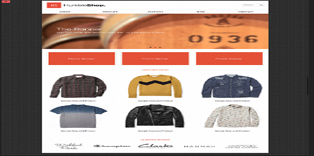HTML eCommerce Themes Reviews - HumbleShop HTML eCommerce Theme