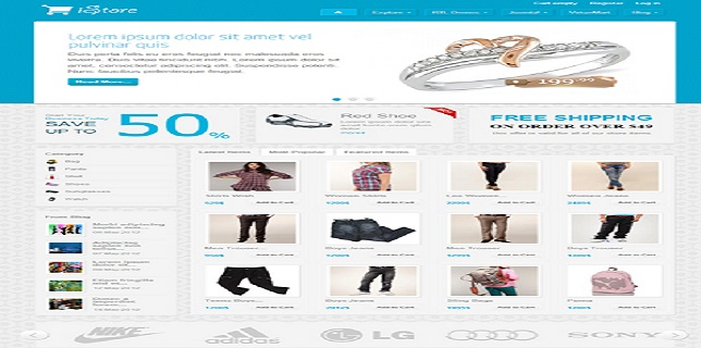 JoomShaper eCommerce Templates Reviews - iStore JoomShaper eCommerce Template