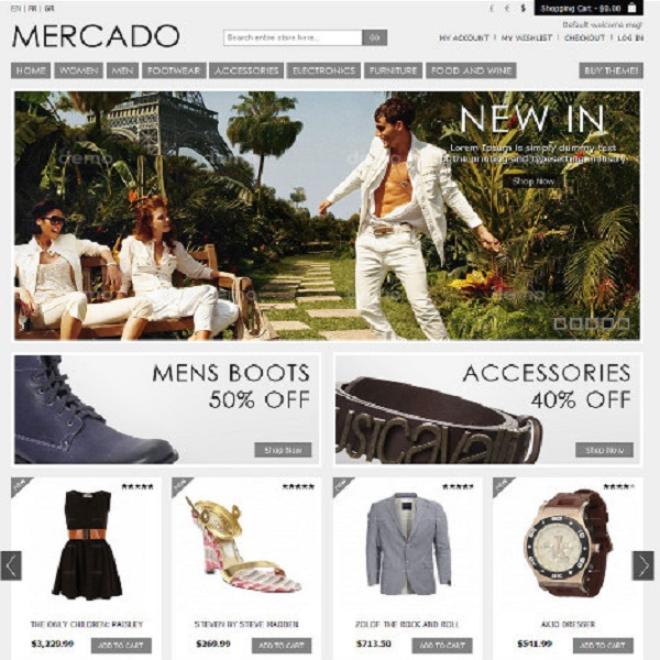 Magento eCommerce Themes Reviews - Mercado Magento eCommerce Theme