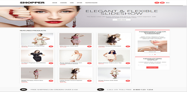 Magento eCommerce Themes Review – Shopper Magento eCommerce Theme