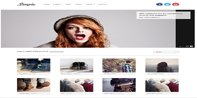 simple ecommerce mojotheme 644