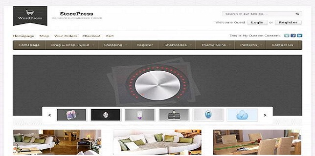 Themeforest eCommerce Themes Reviews - StorePress Themeforest eCommerce Theme
