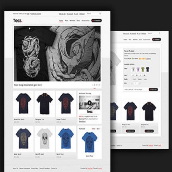 Themeforest eCommerce Themes Reviews - Teez Themeforest eCommerce Theme