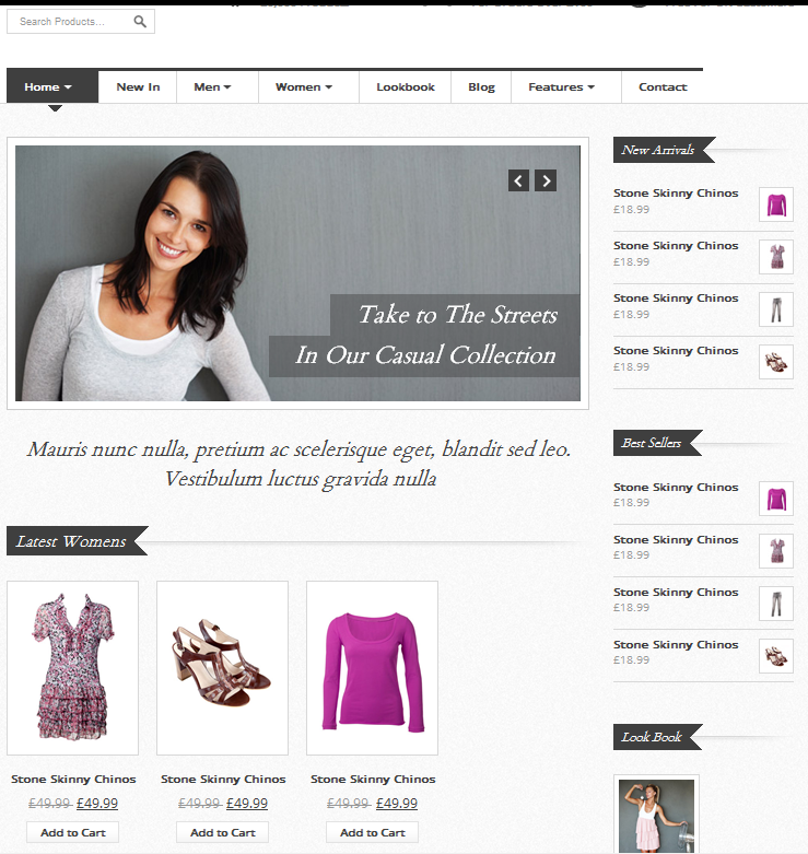 eCommerce HTML Template Reviews – Vintage Shop eCommerce HTML Template