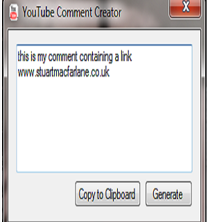 youtube commentcreator